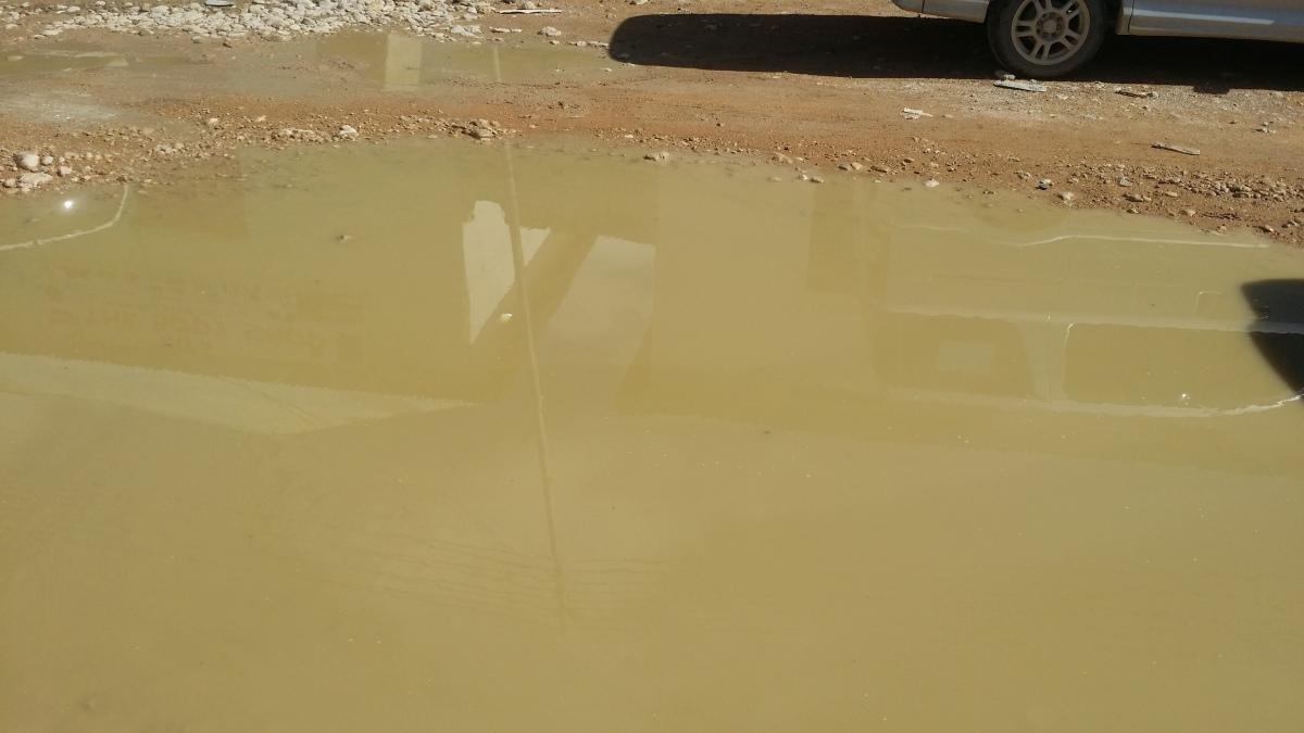 GU'GA RAINS LEFT LAKE-LIKE PONDS ON GAROWESTREETS