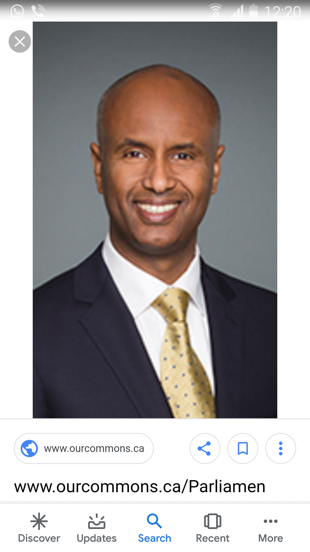 HUSSEN ON CANADA'S AUDITOR GENERAL REPORT