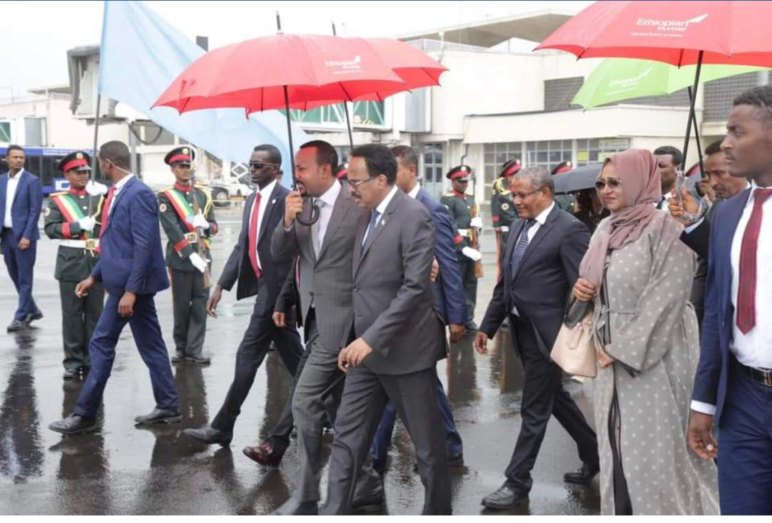 FORMAAJO'S UNSCHEDULED APPEARANCE IN ADDISABABA