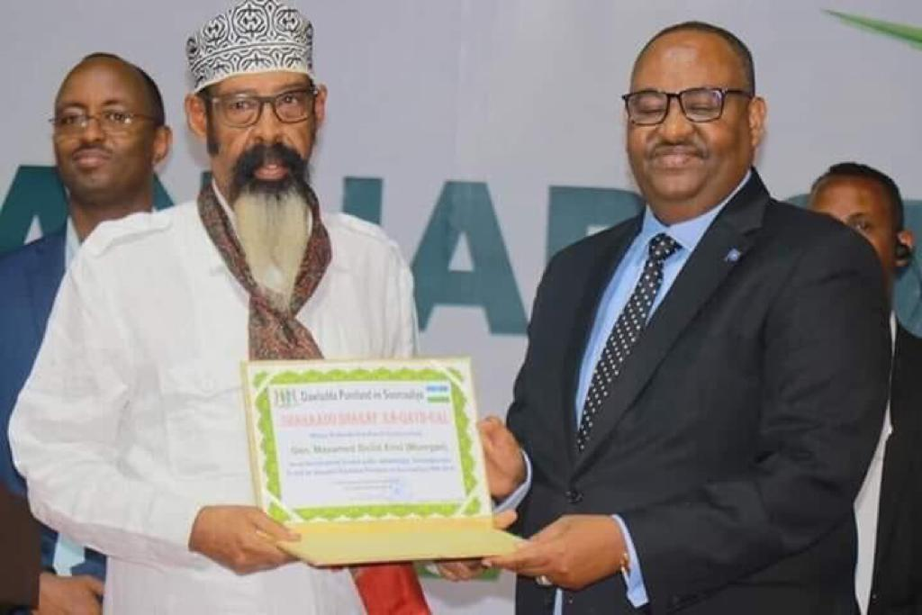 PRESIDENT SAID ABDULLAHI DENI SUPERVISES LARGEST PUNTLAND GOVERNMENT