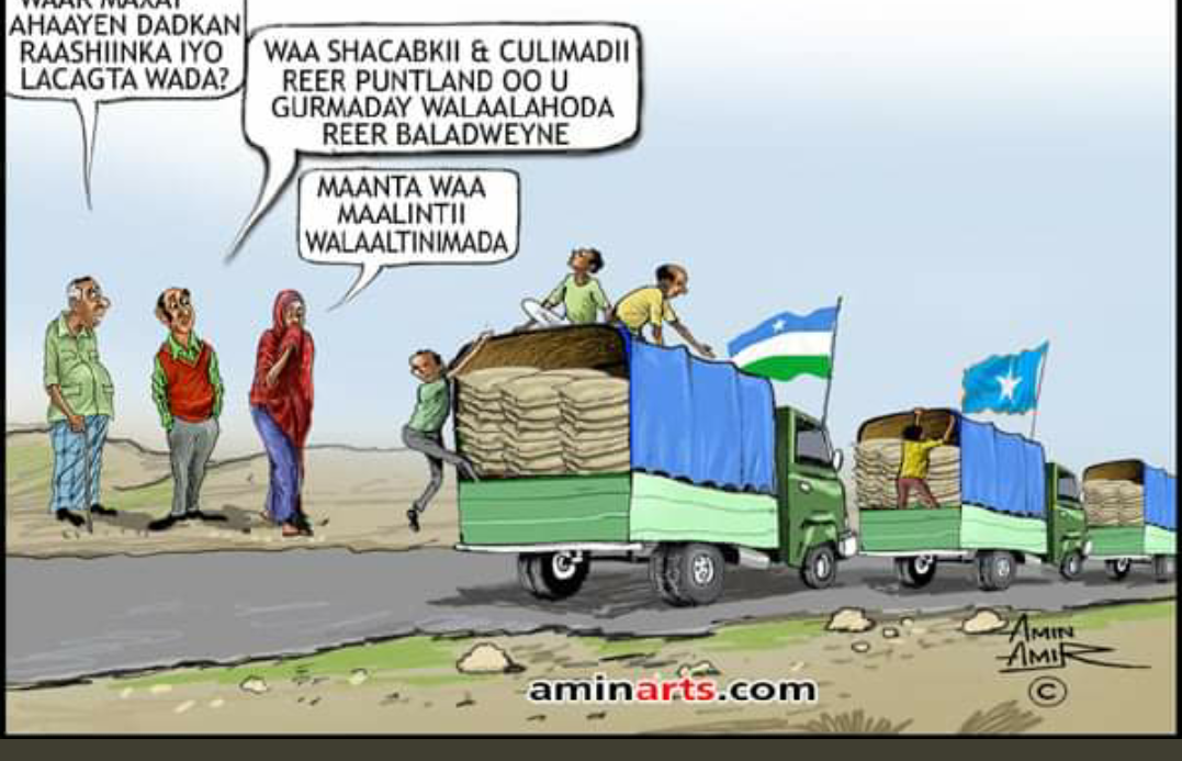 PUNTLAND HUMANITARIAN ASSISTANCE TO FLOOD VICTIMS IN HIRSHABELLE