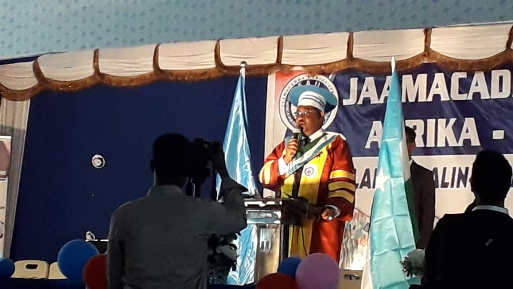 190 SUDENTS GRADUATE FROM EAST AFRICA UNIVERSITY GAROWE BRANCH TODAY