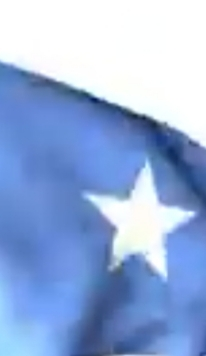 THIS BLUE FLAG HAS BEEN PROUDLY FLYINGFIRM